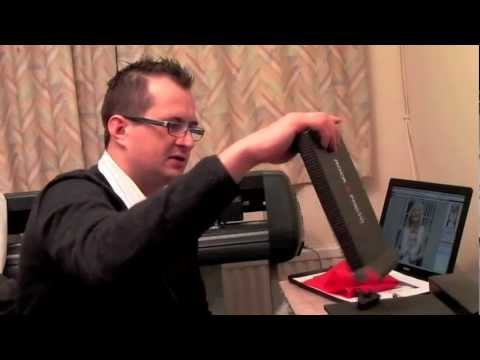 Sublimation video - printing photo slate