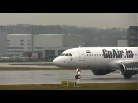 A320-214 GoAir fristflight takeoff