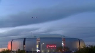 first ever f 35 flyover at 2015 nfl pro bowl