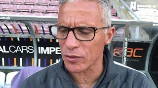 Keith Curle on Sheffield United, the trialists, and a fitness update