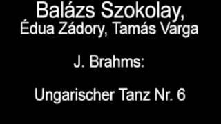 J. Brahms: Ungarischer Tanz Nr. 6 - Balázs Szokolay