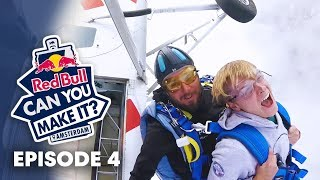 red bull can you make it? jumping out of an airplane on friday the 13th