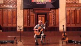 Choros - Villa Lobos. Guitar: Phạm Văn Phúc