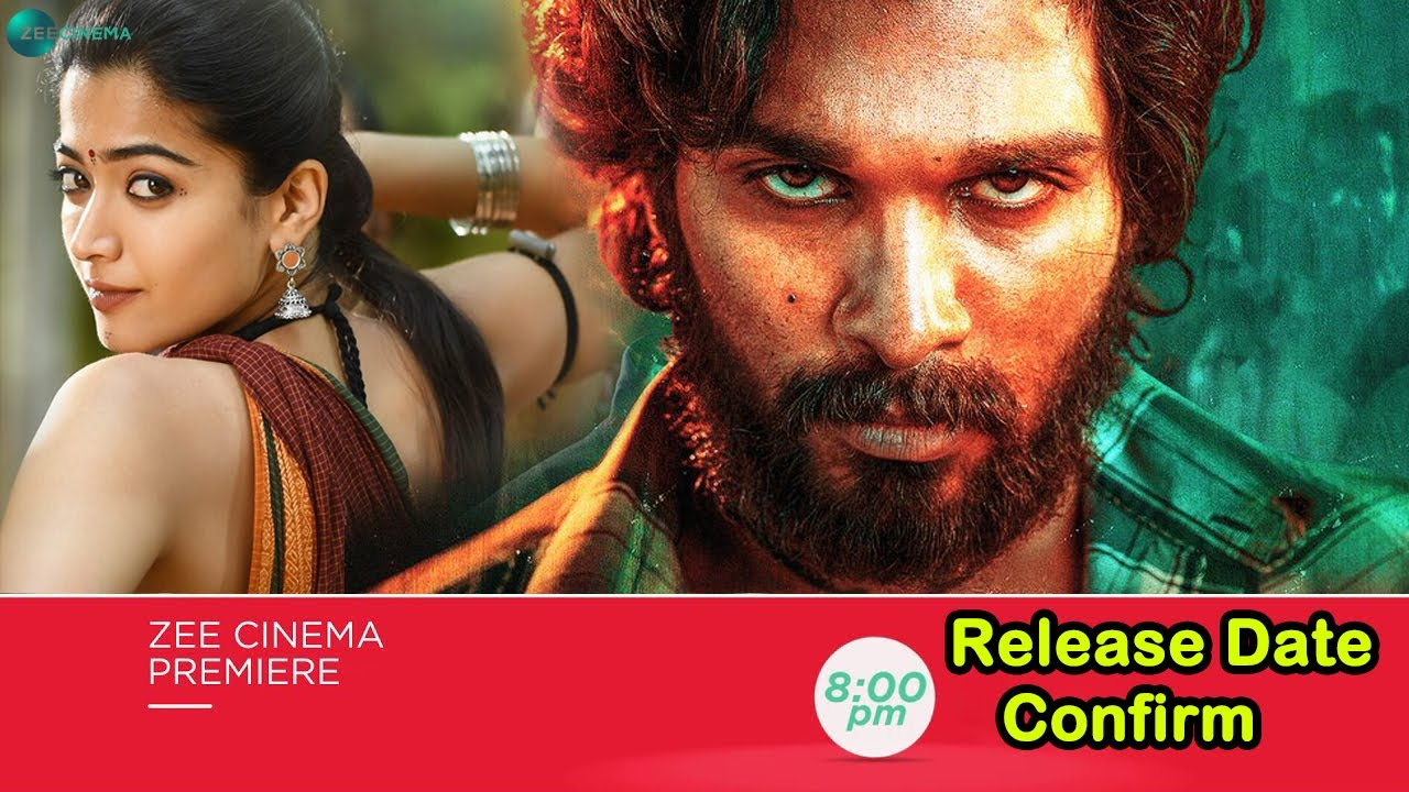 Pushpa Hindi Dubbed Movie | Confirm Release Date | Allu Arjun | Rashmika Mandanna | New Release Date