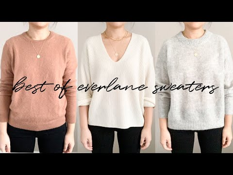 BEST OF EVERLANE SWEATERS (UNDER $100): REVIEW & TRY ON