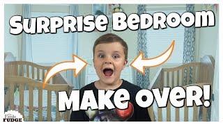 KIDS SURPRISE BEDROOM MAKEOVER!    KIDS REACTIONS 😀