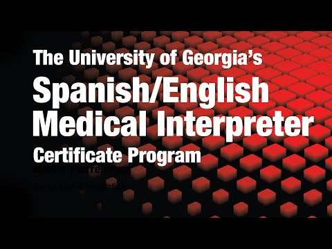 Spanish/English Medical Interpreter Certificate from the ...