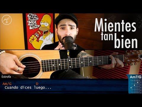 Mientes Tan Bien SIN BANDERA | Cover Christianvib | Guitarra Acustico