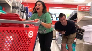 Farting with LONG FARTS at Target - The Pooter - Farting Prank