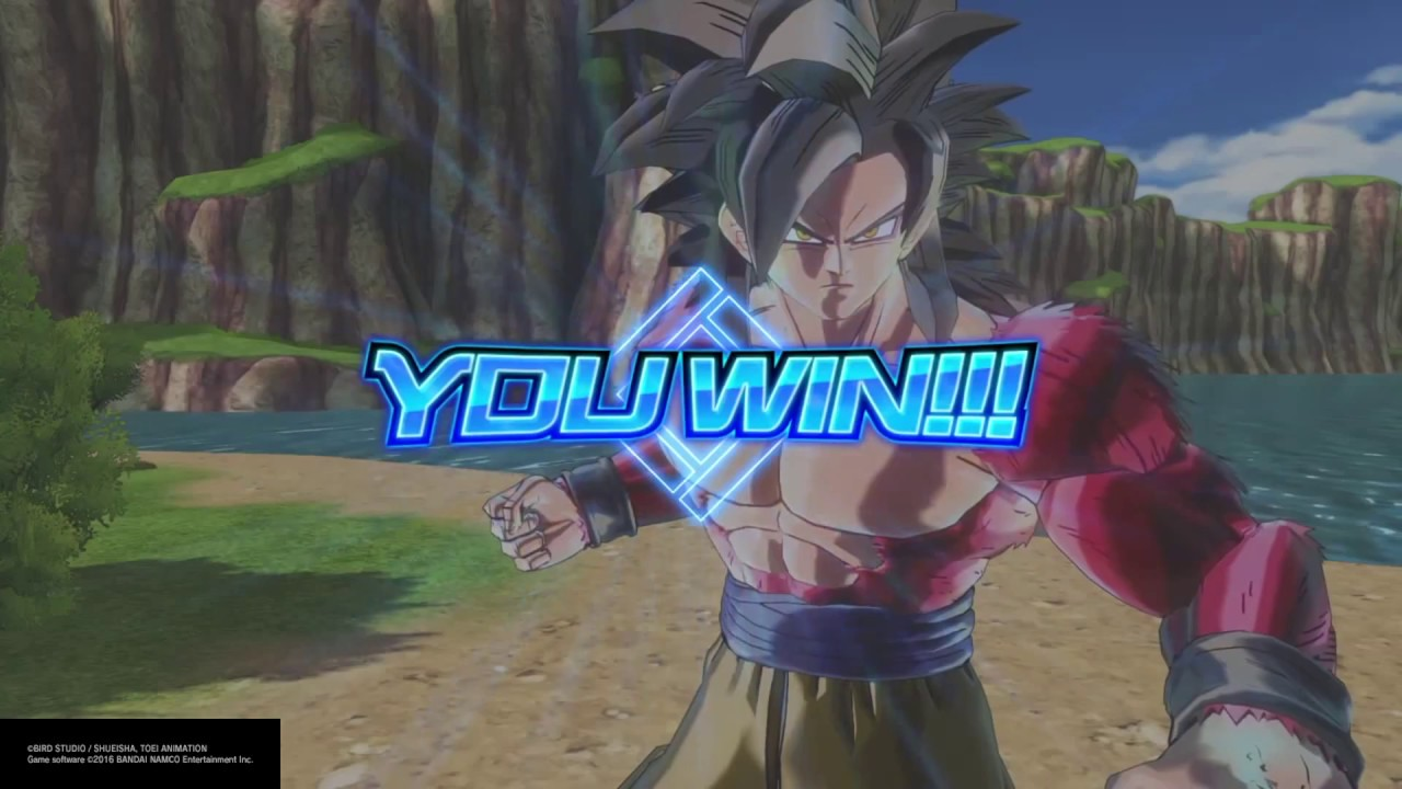 how to get goku ss4 in xenoverse 2