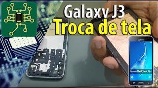 Samsung Galaxy J3 - Como Trocar a frontal do Samsung galaxy J3