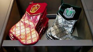 HskyArt Harry Potter Ornaments! Christmas at Universal Studios Hollywood HSKY 2018