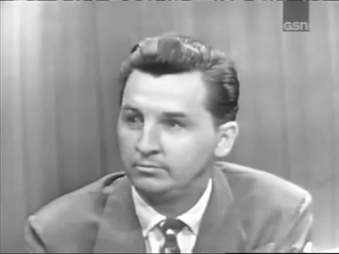 What's My Line?  Eddie Bracken Sep 7, 1952