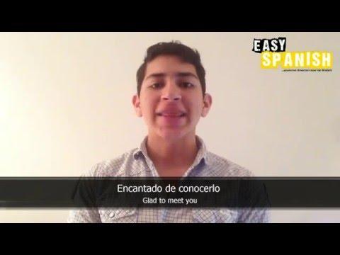 Tiếng Tây Ban Nha bài 2: Các câu thông dụng phần 2