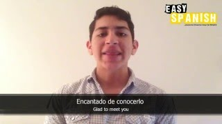 10 FORMAL phrases for first conversations - Easy Spanish Basic Phrases (2)