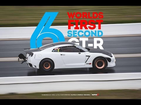 6 SECOND GTR - World Record AMS Alpha G 2500+HP