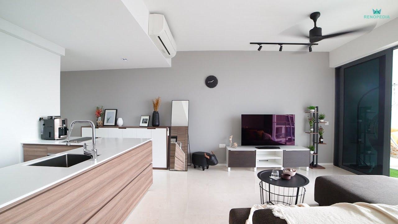 Interior Design Singapore Modern Minimalist Home Neu Konceptz Youtube
