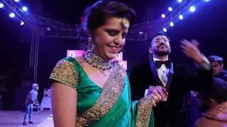 Do Gallan Kariye Punjabi | Couple Reception Dance Performance | Varun & Rupali