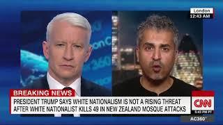 "Maajid Nawaz -  ""Far-right terrorism is the fastest growing threat in the West"" - CNN"
