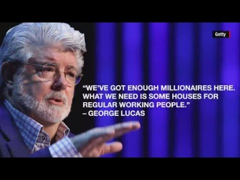This is why George Lucas is at odds with neighbors