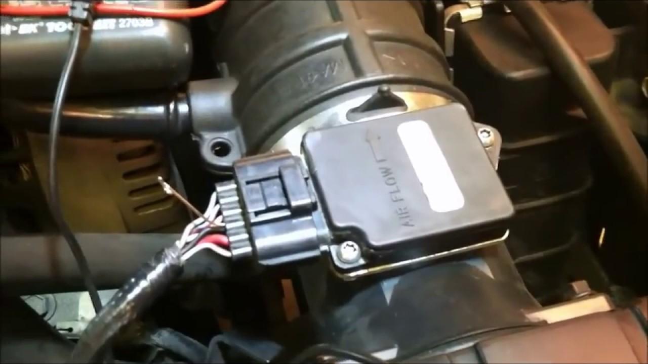 2001 Ford Explorer 4 0l Basic Maf Sensor Testing Youtube