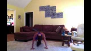 Work out with me!! 20 Burpees, 20 Squats x 5 = 100 of each