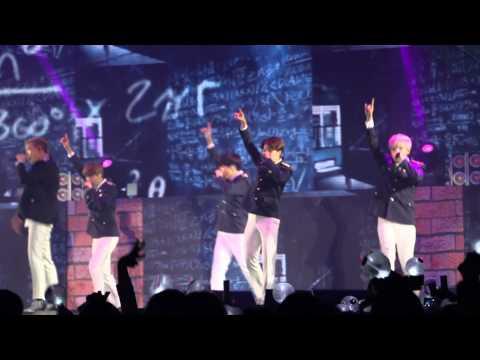150829 BTS Hong Kong Concert - We Are Bulletproof Pt 2.
