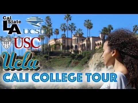 Touring LA and Campus touring: UCLA, USC, UCSD, CAL STATE LA