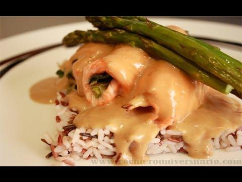 salsa para salmón con nata