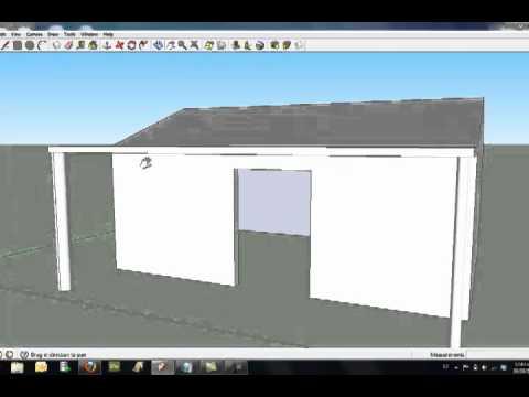 Crea un modelo 3d simple con google sketchup youtube for Crea casa 3d