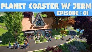 Cute Little Shop!   Planet Coaster #1