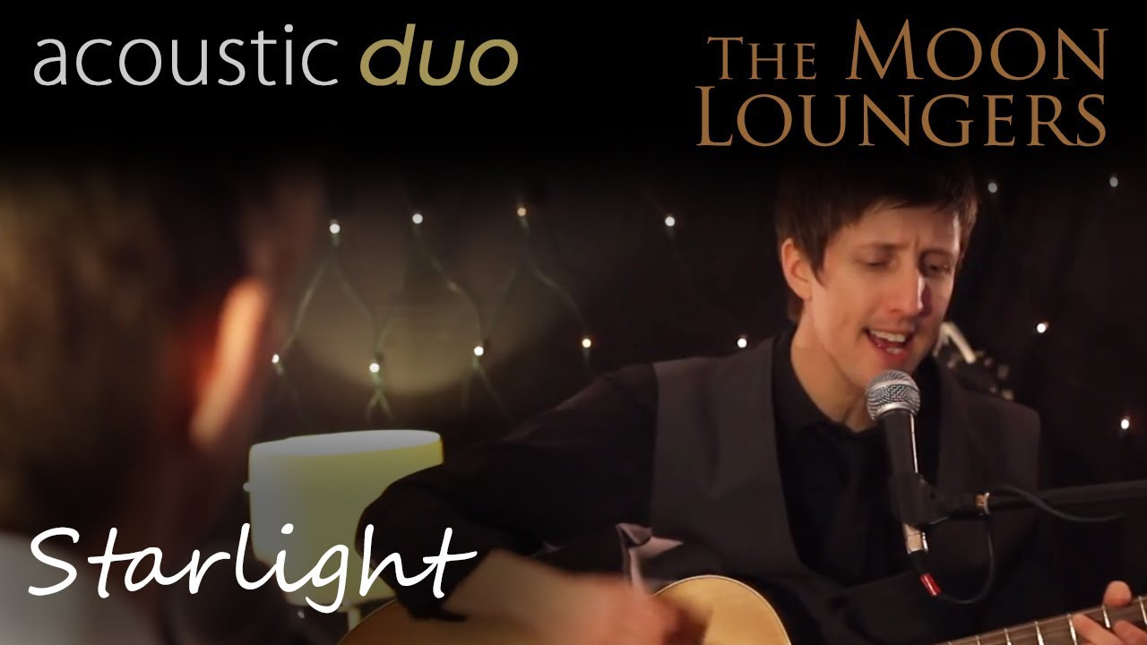 Muse Starlight Acoustic Cover By The Moon Loungers With Guitar