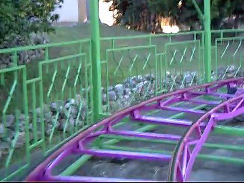 Monta a rusa moncayo parque de atracciones de zaragoza arag n 2013 youtube - Parque atracciones zaragoza ...