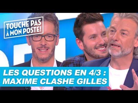 Les questions en 4/3 de Jean-Luc Lemoine : Maxime Guény clashe Gilles Verdez