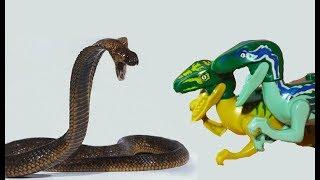 LEGO DINOSAURS - Ловушка на Ловушку 2 серия - Дино и голодные Велоцирапторы. Крысы БЕДА! Приз!