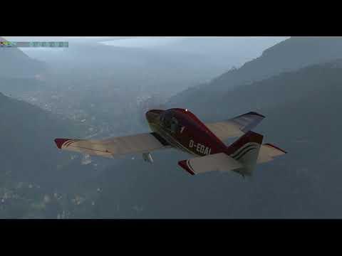 X-Plane 11 / Aerobask Robin DR401 / Locher Airfield