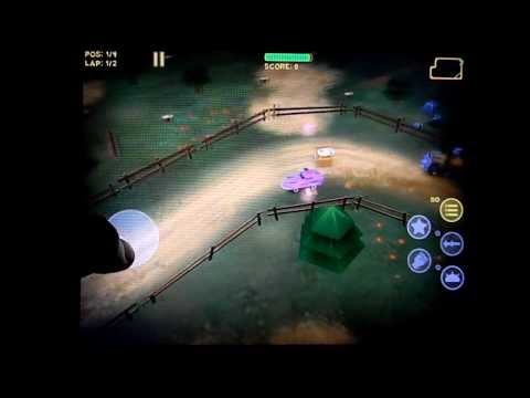 Mad Wheels HD Gameplay Review (iPad)