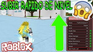 Tips & Tricks for LEVEL UP - Dbz Finald Stand Roblox