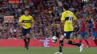 FC Barcelona vs Boca Juniors - Trofeu Joan Gamper 2008