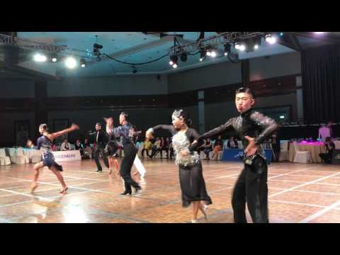 WDSF superstar danceport Latin competition singapore Cha Cha 07152017