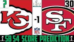 Super Bowl 54 Score Prediction | Chiefs vs 49ers Score Prediction | Super Bowl Picks ATS