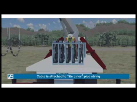 Tite Liner® system pipe lining animation