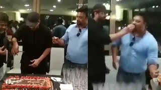 Rebelstar Prabhas Cutting The Birthday DAY cake | Prabhas Birthday Celebrations | #prabhas20 | FL