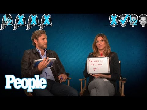 Brett Tucker Says Jes Macallan Loves Nuts  People