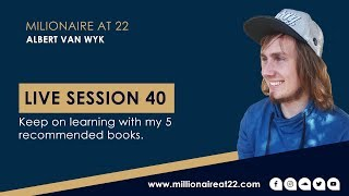 Live Session Ep 40: Keep on learning with my 5 recommended books.