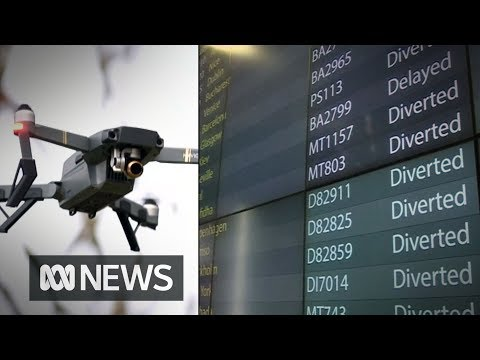 Could something like the Gatwick Airport drone shutdown happen in Australia? | ABC News