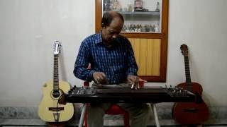 Ek Din Paakhi Ure Jabe Electric Slide Guitar cover by Achintya Karmakar
