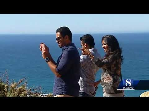 Film production in Big Sur