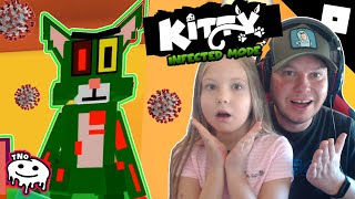 INFEKCE SE DOSTALA DO KITTY 🧟 TOM A JERRY 🧟 INFECTED MODE Roblox | Tatínek a Barunka CZ