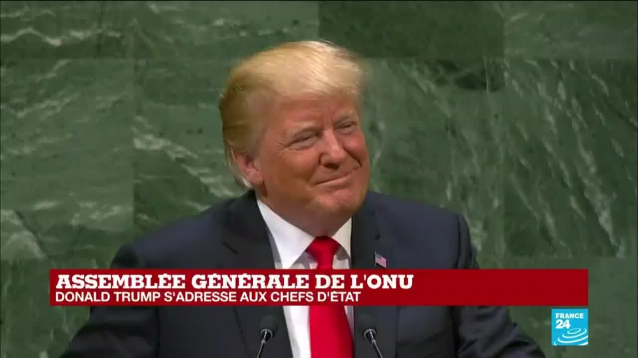 Discours de Donald Trump à l''Assemblée générale de l''ONU